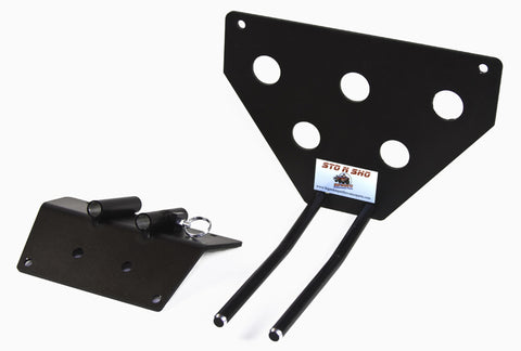 Image of Removable License Plate Bracket for 2005-2009 Ford Mustang Saleen - Parts 2