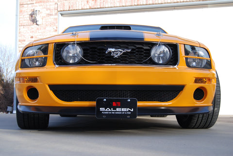 Image of Removable Front License Plate Holder Bracket Ford Mustang Saleen Parnelli Jones
