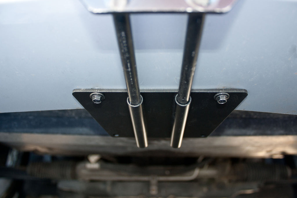Removable License Plate Bracket for 2007 Ford Mustang Saleen Parnelli Jones - Installed 1