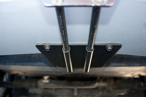 Image of Removable License Plate Bracket for 2007 Ford Mustang Saleen Parnelli Jones - Installed 1
