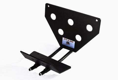 Image of Removable License Plate Bracket for 2007 Ford Mustang Saleen Parnelli Jones - Parts 1