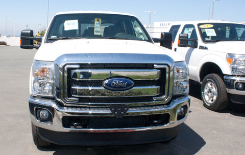 Image of Removable, No Drill Front License Plate Holder Bracket Ford F250/F350 SuperDuty