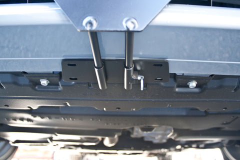 Removable License Plate Bracket for 2013-2014 Scion tC - Installed