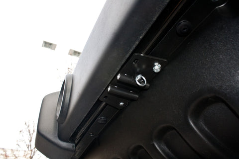Removable License Plate Bracket for 2008-2018 Jeep Wrangler JK - Installed