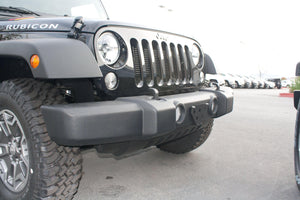 Removable Front License Plate Holder Bracket Jeep Wrangler JK