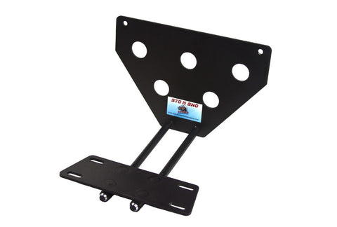 Image of Removable License Plate Bracket for 2008-2018 Jeep Wrangler JK - Parts 1
