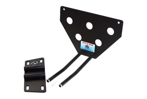 Image of Removable License Plate Bracket for 2008-2018 Jeep Wrangler JK - Parts 2