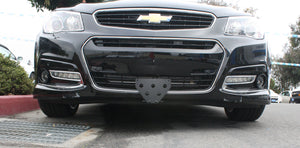 Removable Front License Plate Bracket for 2014-2017 Chevrolet SS - Installed