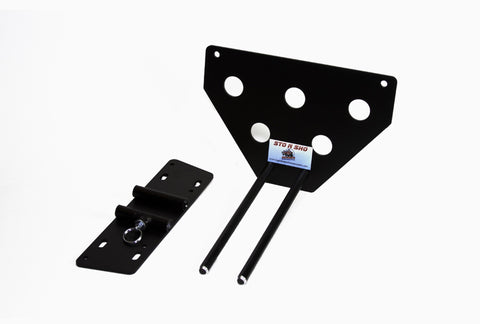 Removable License Plate Bracket for 2010-2012 Ford Mustang GT or V6 - Parts 2