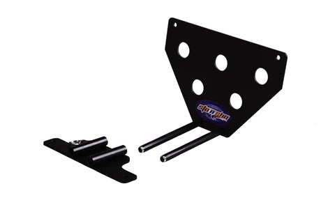 Removable, No Drill License Plate Bracket for 2014-2019 Chevrolet Corvette Stingray & Grand Sport - Parts 2