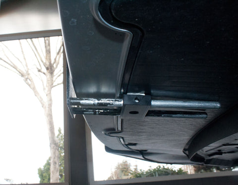 Removable License Plate Bracket for 2014-2016 Audi RS7 - Installed