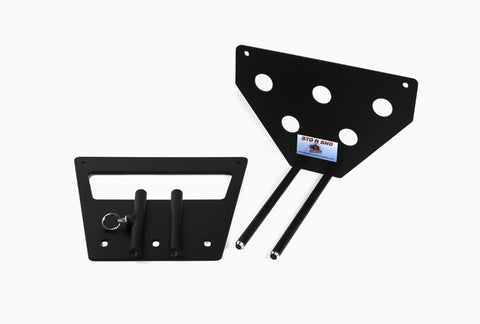 Removable License Plate Bracket for 2010-2012 Ford Mustang California Special / Boss 302 - Parts 2