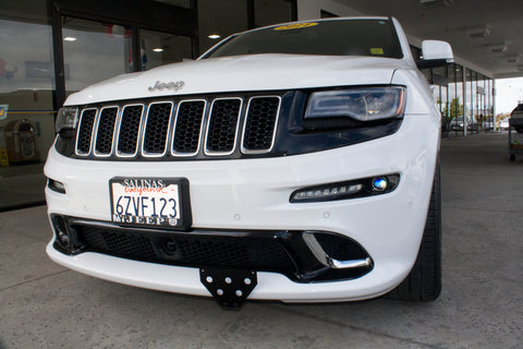 Removable Front License Plate Holder Bracket Jeep Grand Cherokee SRT