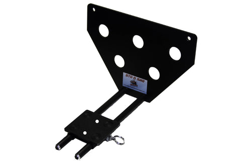 Image of Removable License Plate Bracket for 2012-2016 Jeep Grand Cherokee SRT - Parts 1