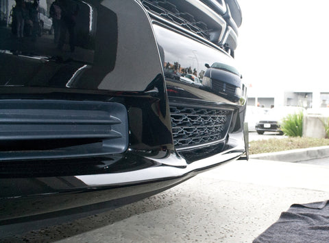 Removable License Plate Bracket for 2015-2019 Dodge Charger SXT, R/T, GT (with adaptive cruise) - Installed 1
