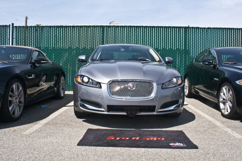 Image of Removable Front License Plate Holder Bracket Jaguar XF Luxury Sedan