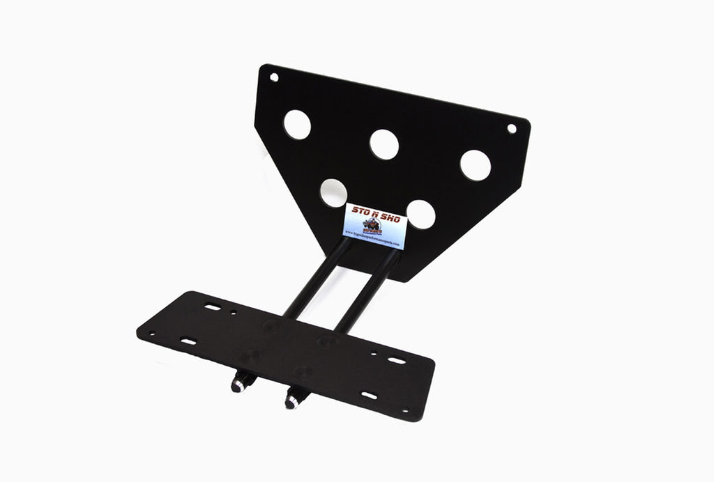 Removable, No Drill License Plate Bracket for 2014-2018 BMW i8 - Parts 1