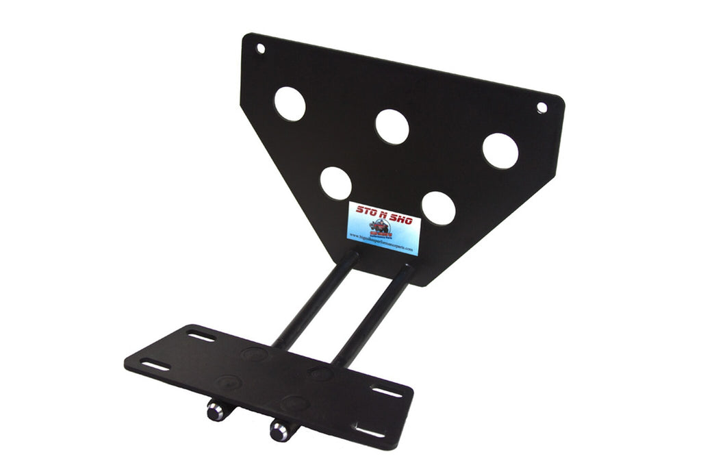 Removable, No Drill License Plate Bracket for 2013-2015 Jaguar XJ - Parts 1