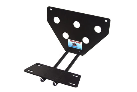 Image of Removable, No Drill License Plate Bracket for 2013-2015 Jaguar XJ - Parts 1
