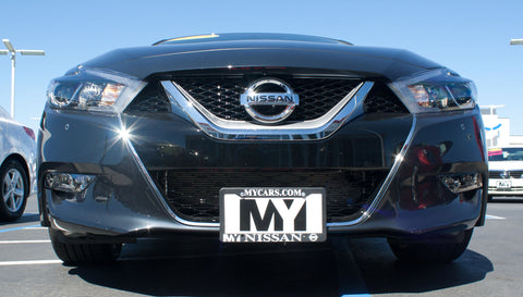 Image of Removable Front License Plate Holder Bracket Nissan Maxima