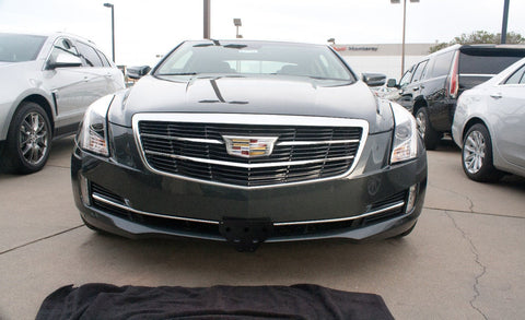 Image of Removable Front License Plate Holder Bracket Cadillac ATS