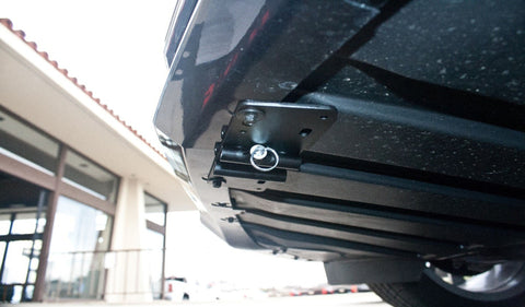 Image of Removable License Plate Bracket for 2015-2019 Cadillac ATS - Installed