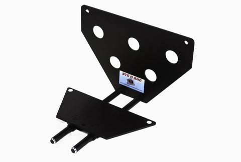 Removable License Plate Bracket for 2013-2014 Ford Mustang GT/V6 - Parts 1