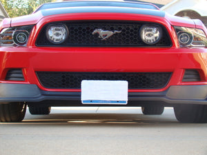 Removable Front License Plate Holder Bracket Ford Mustang RTR