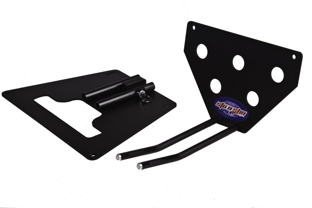 Removable, No Drill License Plate Bracket for 2015-2019 Ford Mustang Shelby GT350/GT350R - PArts 2
