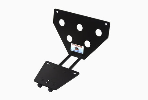 Image of Removable License Plate Bracket for 2017-2019 Jaguar F Pace - Parts 1