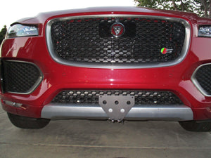 2017-2018 Jaguar F Pace S with black package License Plate Bracket - R&W Speed Shop