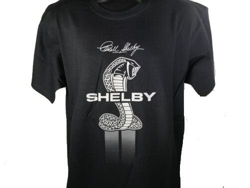Shelby Signature Cobra Snake Emblem T-Shirt - Front - Live Fast Supply Company