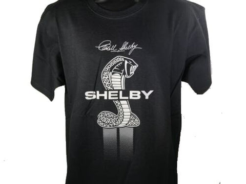 Image of Shelby Signature Cobra Snake Emblem T-Shirt - Front - Live Fast Supply Company