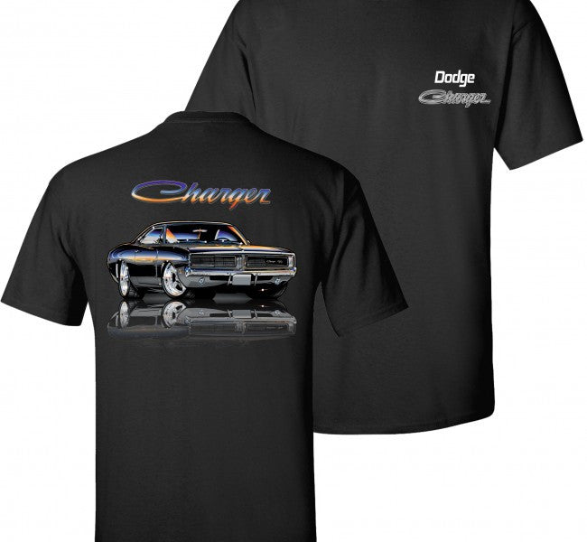 Dodge Charger T-Shirt 1969 - Live Fast Supply Company