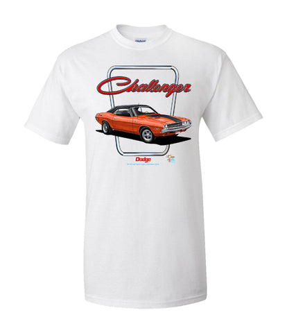Dodge Challenger T-Shirt - Live Fast Supply Company
