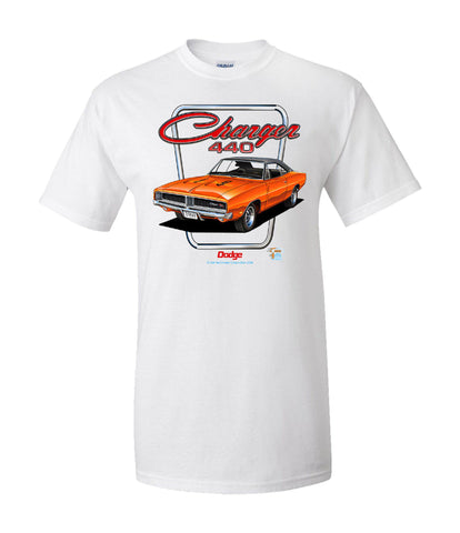 Dodge Charger 440 T-Shirt - Live Fast Supply Company