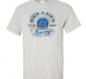 Mopar Garage Speed Shop T-Shirt - Live Fast Supply Company