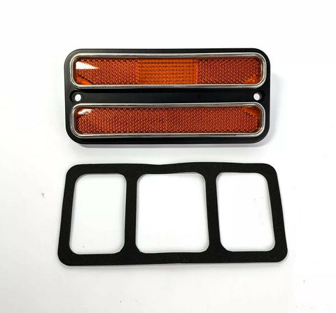 Amber Deluxe Side Marker Light Turn Signal For 1968-1972 Chevy & GMC Truck-Live Fast Supply Company