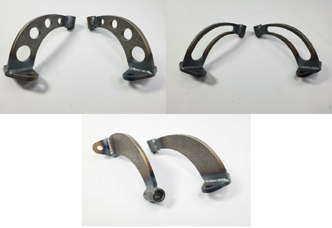Image of Pair of Headlight Stands / Mounts For Hot Rods (Custom Steel Frame Mounts)