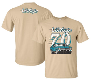 Chevy Nova T Shirt w/ Teal 1970 Nova - R&W Speed Shop