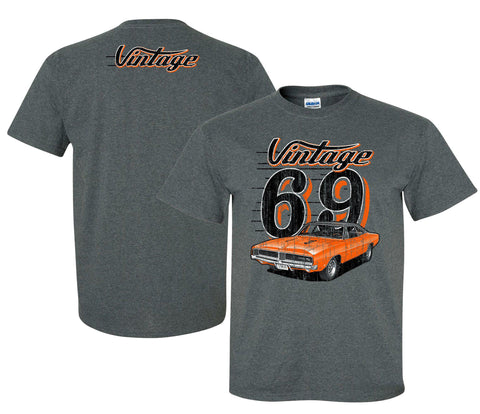 1969 Dodge Charger Vintage T-Shirt - Live Fast Supply Company