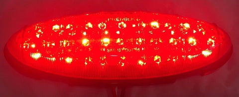 Pair of 1949-1950 Ford LED Tail Light Inserts - Light 2