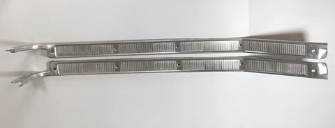 Image of Door Sill Plates For 1967-1972 Ford F-100 & F-250 Pickup Truck (Main)