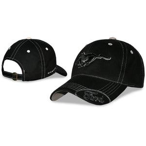 Ford Mustang Hat - Black with Pony Logo - Live Fast Supply Company