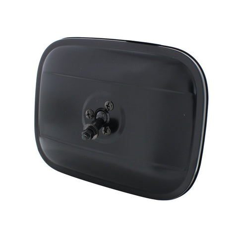 1940-1972 Chevy Truck Side Mirror - Square Head Black - Main