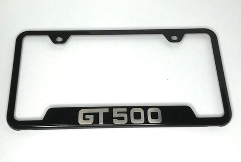 Image of Ford Mustang GT500 Metal License Plate Frame - R&W Speed Shop