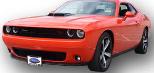 Removable, No Drill Front License Plate Holder Bracket Dodge Challenger SXT, R/T, Scat Pack