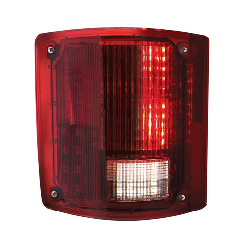 Pair 1973-87 Chevy Truck Sequential LED Tail Lights - Front 3