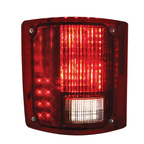 Image of Pair 1973-87 Chevy Truck Sequential LED Tail Lights - Front 2