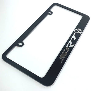 Dodge SRT Hellcat License Plate Frame - Black (Main)